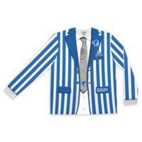 Seton Hall University Men's Medium Striped Faux Suit Long Sleeve T-Shirt