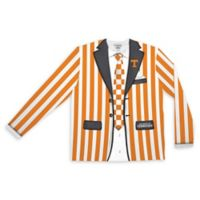 University of Tennessee Men's Large Striped Faux Suit Long Sleeve T-Shirt