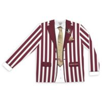 Florida State University Men's Large Striped Faux Suit Long Sleeve T-Shirt