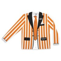 Oklahoma State University Men's Large Striped Faux Suit Long Sleeve T-Shirt