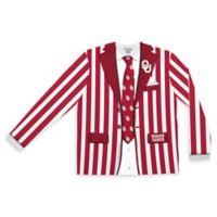 University of Oklahoma Men's Medium Striped Faux Suit Long Sleeve T-Shirt