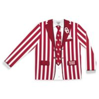 University of Oklahoma Men's Extra Large Striped Faux Suit Long Sleeve T-Shirt