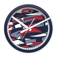 NFL New England Patriots Round Wall Clock