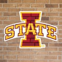 Iowa State University Logo Small Outdoor Decal