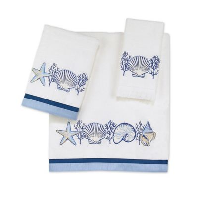 Buy decorative embellished bath towels from bed bath beyond - Decorative hand towels for bathroom ...