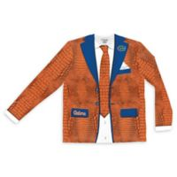 University of Florida Men's Large Faux Alligator Skin Suit Long Sleeve T-Shirt