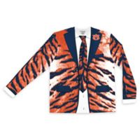 Auburn University Men's Large Faux Tiger Skin Suit Long Sleeve T-Shirt