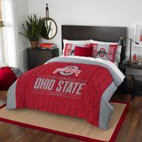Ohio State University Embroidered King Comforter Set