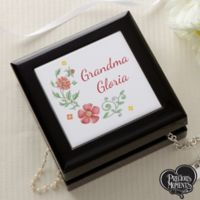 Precious Moments® Floral Jewelry Box