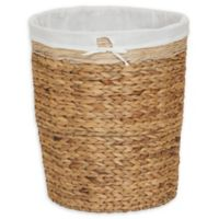 Household Essentials® Oversized Round Hyacinth Hamper in Brown
