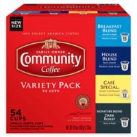 54-Count Community Coffee® Premium Variety Pack for Single Serve Coffee Makers