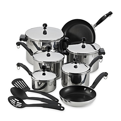 Farberware® Classic Series™ 15-Piece Cookware Set - Bed ...