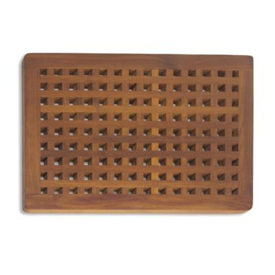 Buy Teak Mats from Bed Bath & Beyond