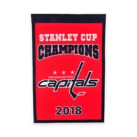 NHL Washington Capitols Stanley Cup 2018 Champions Banner