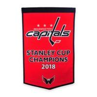 NHL Washington Capitols Dynasty Banner