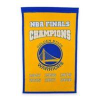 NBA Golden State Warriors 2018 Champions Banner
