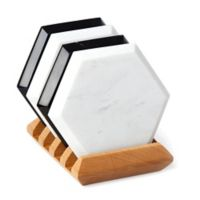 Lenox® Platform 4-Piece Marble Coaster and Tray Set