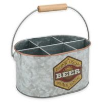 Thirstystone® Beer Galvanized Flatware Caddy