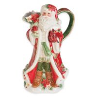 Fitz and Floyd® Cardinal Christmas Santa Pitcher