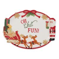 Fitz and Floyd® Reagan White House Toyland Christmas Cookie Platter