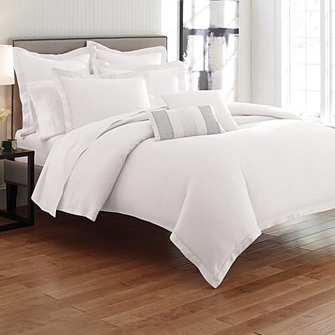 Bellora Linen White Duvet Cover, 100% Linen - Bed Bath & Beyond