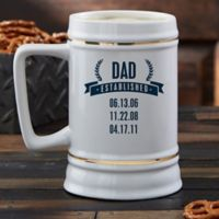 Established Dad Beer Stein