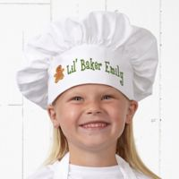 Lil' Christmas Baker Youth Chef Hat