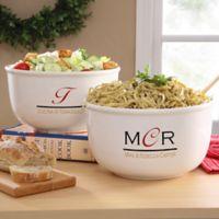 Chef's Monogram Serving Bowl