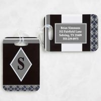 Frequent Flyer Luggage Tags (Set of 2)