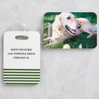 Love My Pet Photo Luggage Tags (Set of 2)