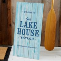 Home Away From Home Standing Wood Sign
