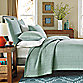 Real Simple® Dune Twin Reversible Coverlet in Sea Glass