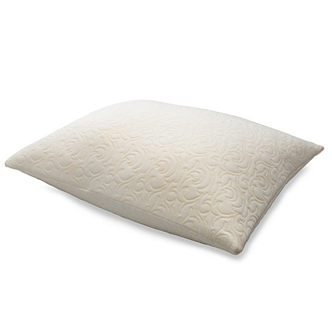 tempur pedic comfort pillow in queen bed bath beyond. Black Bedroom Furniture Sets. Home Design Ideas