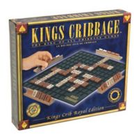 Everest Toys Kings Cribbage - Royal Edition Strategy Game