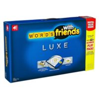 Hasbro Words with Friends Luxe Edition Word Game