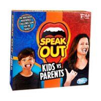 Hasbro Speak Out - Kids vs Parents Family Game