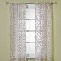 B. Smith Jafaro Burnout 95-Inch Window Curtain Panel