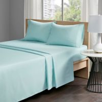 Sleep Philosophy COPPER TOUCH™ Copper-Infused California King Sheet Set in Aqua