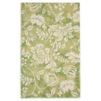 Liora Manne Jadu Floral 8'3 x 11'6 Hand Tufted Area Rug in Sage