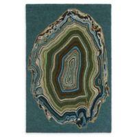 Liora Manne Agate 8'3 x 11'6 Area Rug in Aqua