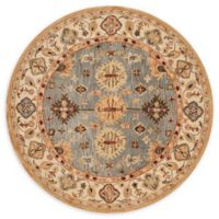 Safavieh Antiquity Moira 6; Round Handcrafted Rug in Blue