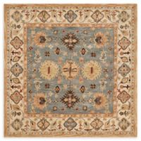 Safavieh Antiquity Moira 6; Square Handcrafted Rug in Blue