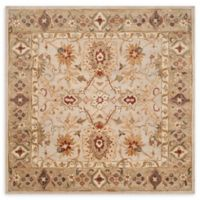 Safavieh Antiquity 6' Square Handcrafted Area Rug in Grey/Beige