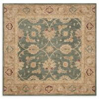 Safavieh Quincy 6; Square Handcrafted Area Rug in Teal/Blue