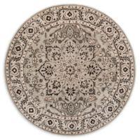 Safavieh Antiquity Karinne 6; Round Handcrafted Rug in Grey
