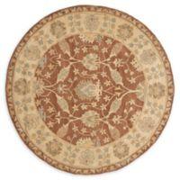 Safavieh Antiquity Danica 6; Round Handtufted Rug in Brown