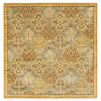 Safaiveh Antiquity Estera 8' Square Area Rug in Light Blue