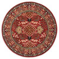 Safavieh Antiquity Nellie 6' Round Area Rug in Red