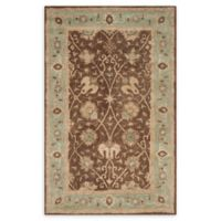 Safavieh Antiquity Brielle 4' x 6' Handcrafted Area Rug in Brown