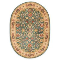 Safavieh Antiquity Andis 7'6 x 9'6 Oval Area Rug in Blue